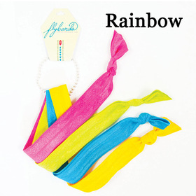 Fly Bands Haarbänder Rainbow:  (© Great Lengths)