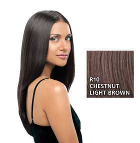 Hairdo 22 inch Clip in Straight, Chestnut:  (© Great Lengths)