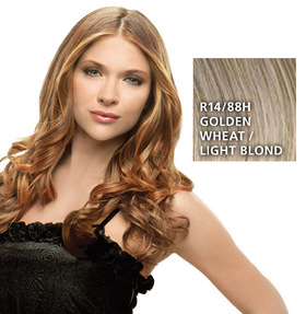 Hairdo 23 inch Clip in Wavy, Golden Wheat:  (© HAIRUWEAR)