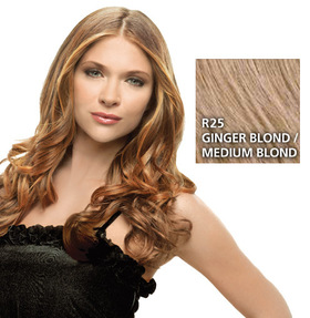 Hairdo 23 inch Clip in Wavy,  Ginger Blond:  (© HAIRUWEAR)