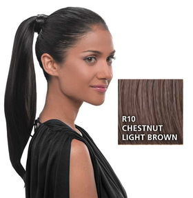 Simply Straight Pony, Chestnut/Light Brown:  (© HAIRUWEAR)