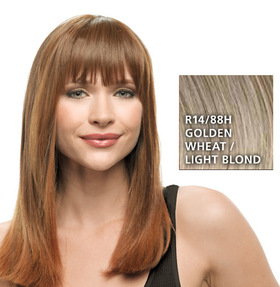 Clip-in-Bang, Golden Wheat:  (© HAIRUWEAR)