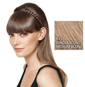French Braid Band, geflochtenes Haarband, Ginger Blond:  (© HAIRUWEAR)