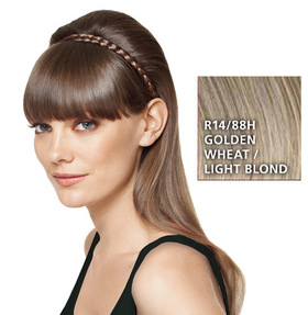 French Braid Band, geflochtenes Haarband, Golden Wheat:  (© HAIRUWEAR)