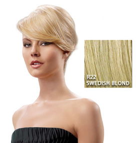 Swept Away Bang, Swedish Blond:  (© Great Lengths)