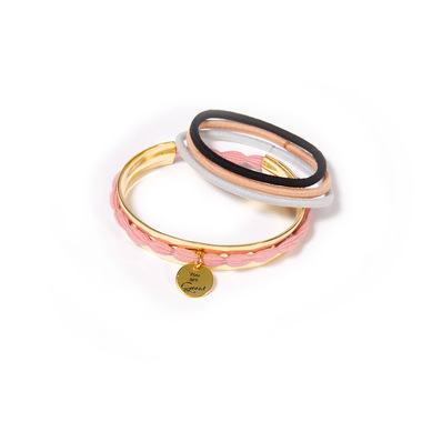 Hair Tie Cuff Gold:  (© Great Lengths)