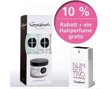 Multibox Daily Moisture + Hairperfume:  (© Great Lengths)