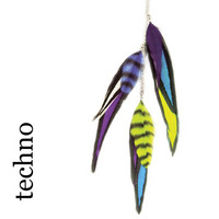Feather Charms Farbe: techno:  (© Great Lengths)