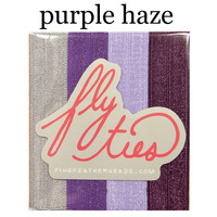 Fly Ties Haarbänder Farbe: purple haze:  (© Great Lengths)