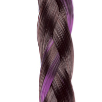 CLIP IN BEADED BRAID R10 pink:  (© Great Lengths)