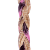 CLIP IN BEADED BRAID R14/88H pink:  (© Great Lengths)