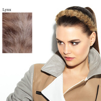FAUX FUR HEADBAND Lynx