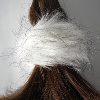FAUX FUR SNAP WRAP:  (© Great Lengths)