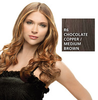 Hairdo 23 inch Clip in Wavy, Chocolate Copper