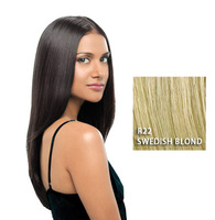 "22"" Straight Extension, Swedish Blond, Hairdo"