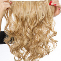 "23"" Clip-in Wavy, Vorderseite:  (© Great Lengths)"