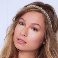 Bond Headband Gold oder Silver:  (© TASSEL)