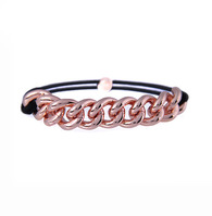Chained Rose Gold Elastic, Hair Elastic
