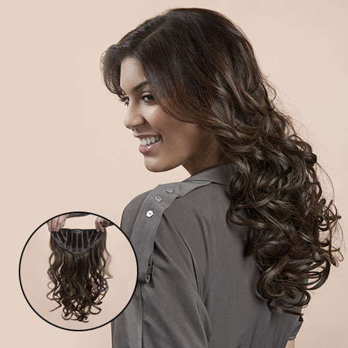 23&quot; Clip in<br>Wavy Extension