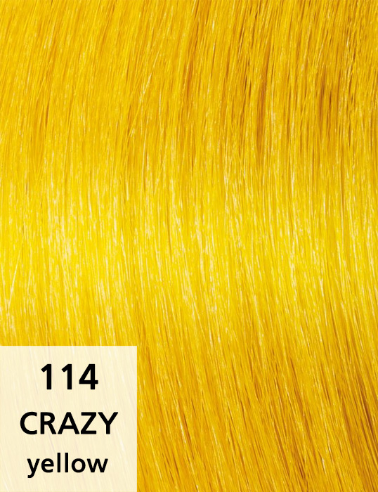 Crazy / yellow / 114