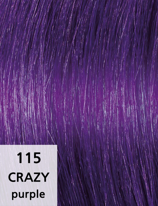 Crazy / purple / 115