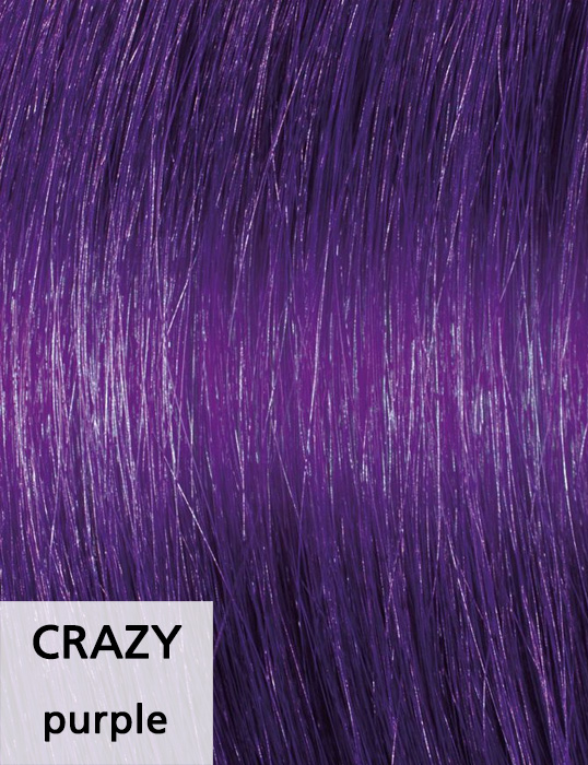 Crazy / purple
