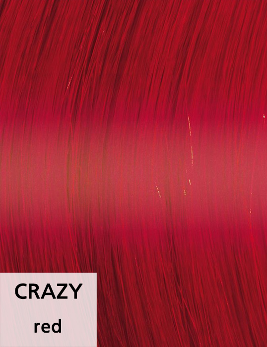 Crazy / red