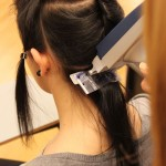 Multisonic Strähnen werden appliziert