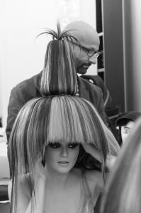 Große Haarkunst