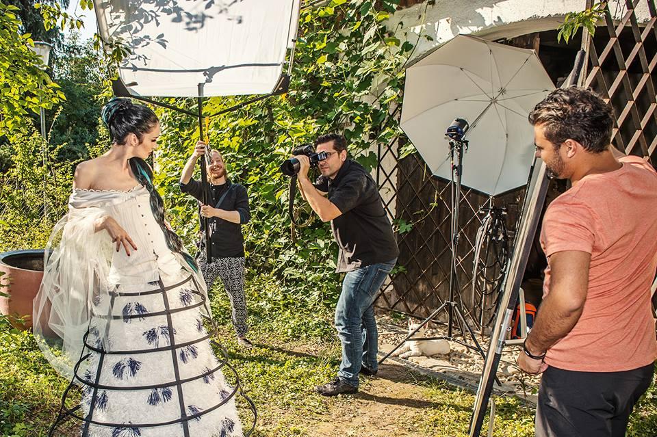 Vorbereittungen für Campaign-Shooting 2015 mit Matthias Horung
