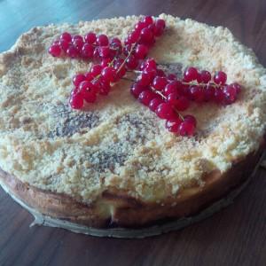 Ribisel-Topfen-Kuchen