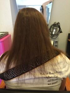 Entfernung der misslungenen Haarverlängerung