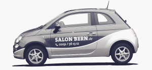 Salon Bern - online und mobil erreichbar