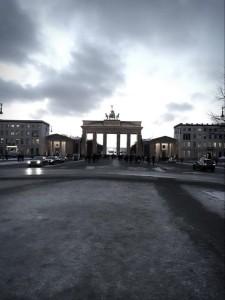Abendstimmung am Berliner Tor