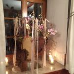 Blumenschmuck – Fensterdetail