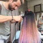 Vorbereitungen 'Frisurentrends im Frühjahr' Mario Gutmann