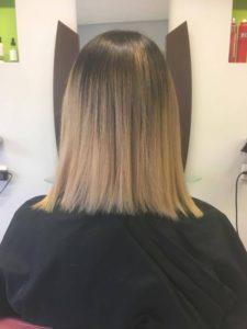 Ausgangslage vor der Haarverlängerung