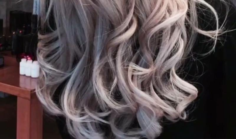 Haarverlängerung in Kurz-Videos und Slideshow dargestellt