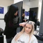 Haarumstyling für Fashionbloggerin