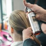Vorbereiten des Haares