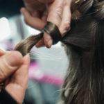 Schneckeln der Haare