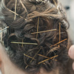 Fixieren des Haares