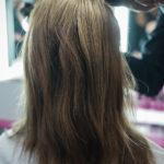 In Form bringen der Frisur
