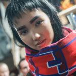 Hairdo Clip-im Bang auf der fashion Wekk Berlin 2018
