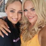 Diana Herold wieder mit langer Mähne und Stylistin Natascia