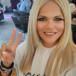 Diana Herold mit neuer, glatter Mähne