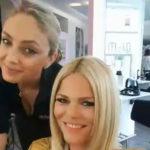 Diana Herold bekommt Haarverlängerung