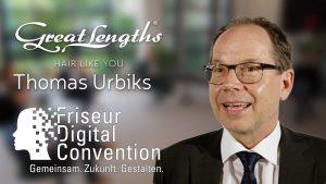 Thomas Urbiks auf der Friseur Digital Convention