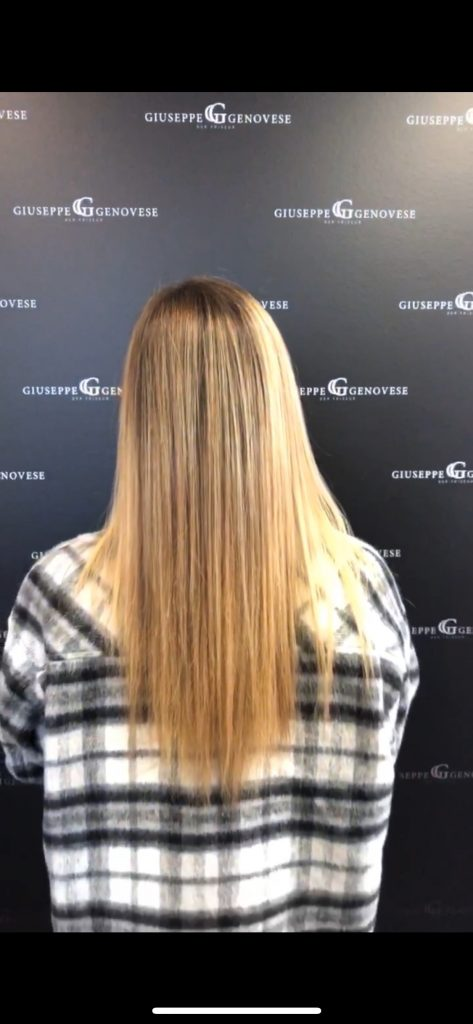 Verena Steigner – Kooperation mit Great Lengths und Giuseppe Genovese Der Friseur