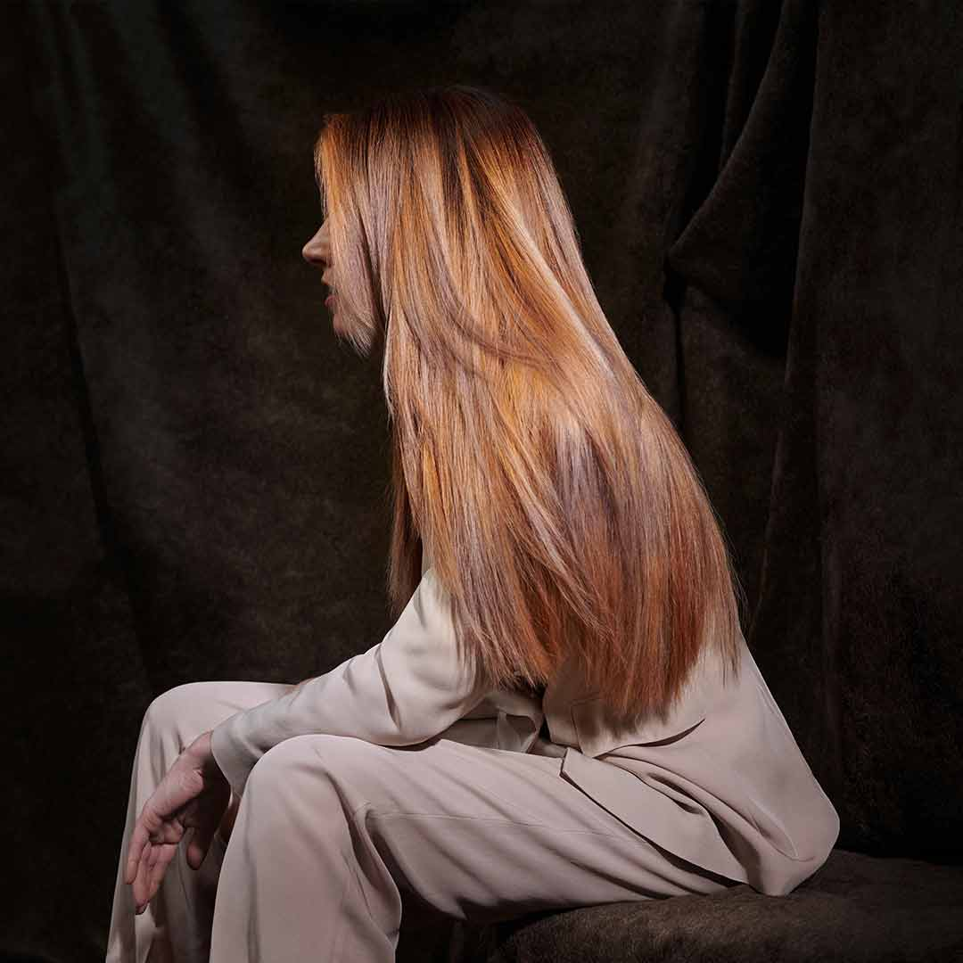 Look 4 – Haar in allen Schattierungen des Herbstes
